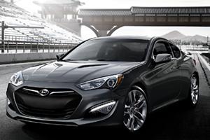 Hyundai Genesis 3/4 View