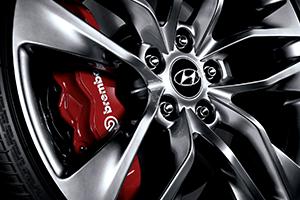 Hyundai Genesis premium alloy wheels