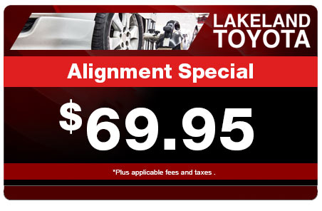 Synthetic Oil Change Coupons >> Toyota Service Coupons & Parts Specials | Lakeland Toyota