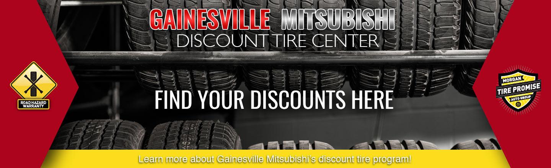 Gainesville Mitsubishi Discount Tire Center | Morgan Tire Promise