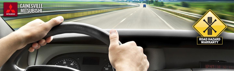 Gainesville Mitsubishi Road Hazard Warranty