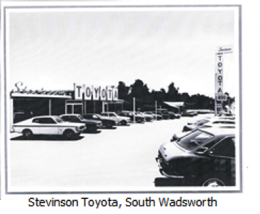 Stevinson Automotive History