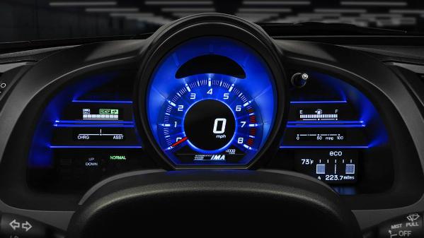2016 Honda CR-Z instrument cluster