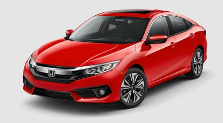 Stock Photo of 2017 Honda Civic
