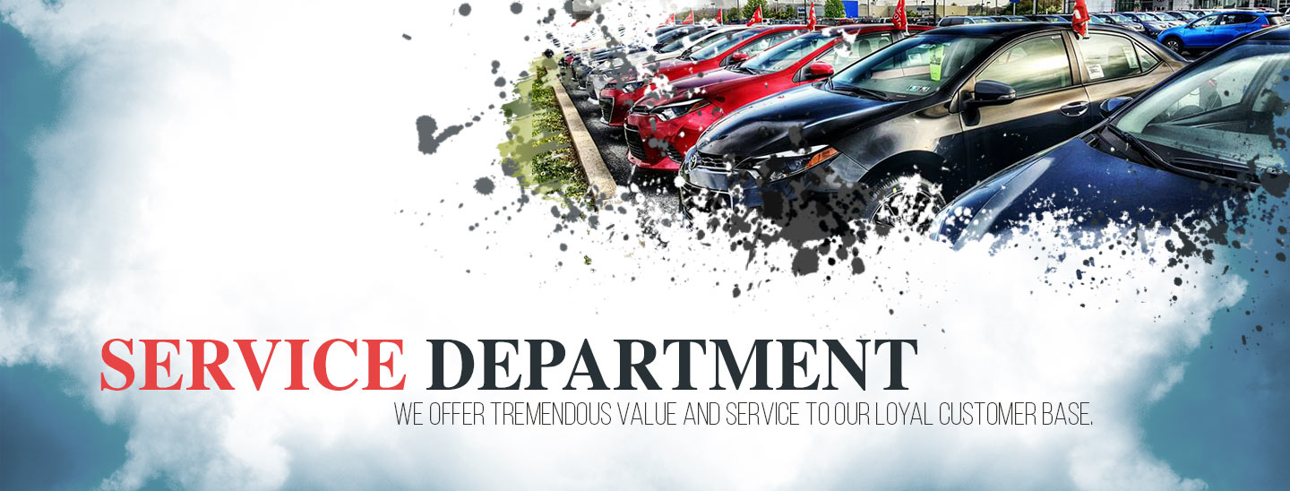 Service Department At Freedom Toyota