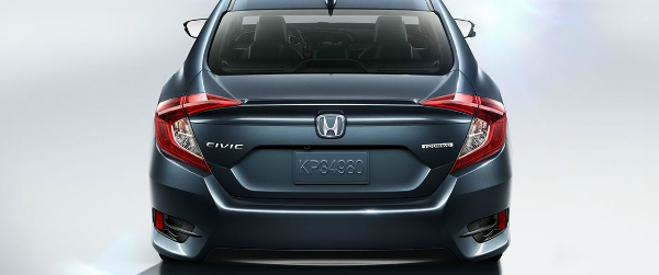 2017 Honda Civic Sedan taillights