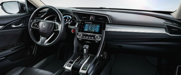 2017 Honda Civic Sedan dashboard