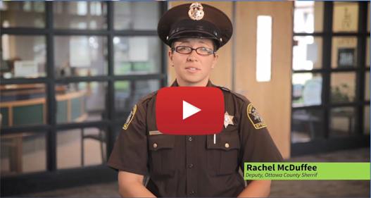 Ottawa County Sheriff, Rachael McDuffee