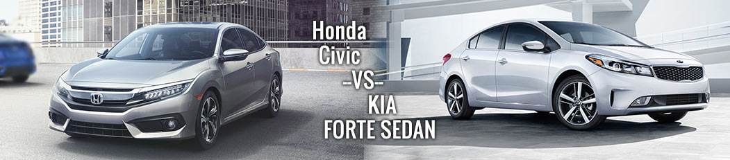 Honda Civic vs. Kia Forte Sedan