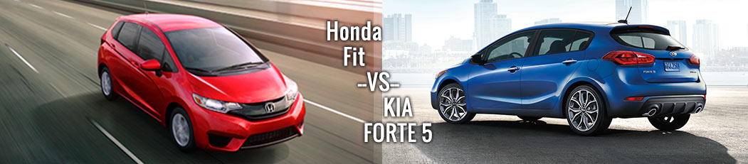 Honda Fit vs. Kia Forte5