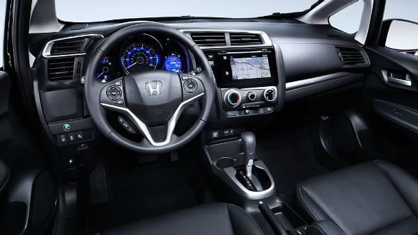 2017 Honda Fit dashboard