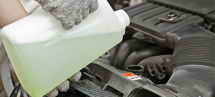 Coolant Exchange Service