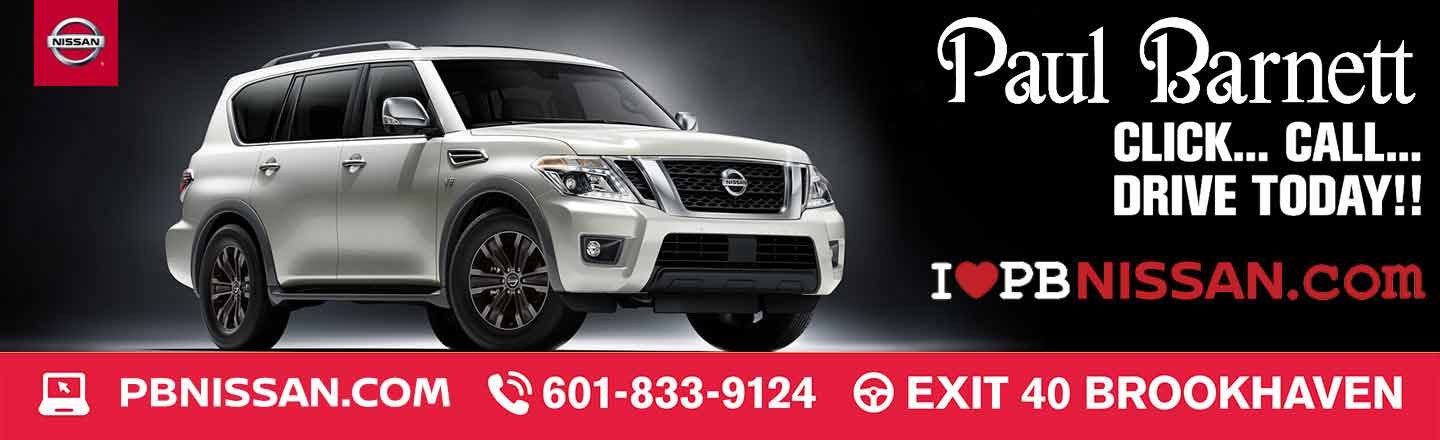 Paul Barnett Nissan In Brookhaven, MS | Serving Hazlehurst And Monticello