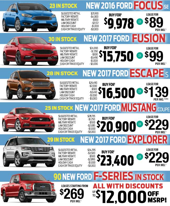 Lakeland Automall Ford And Hyundai Year End Clearance Event Through January 1 2017