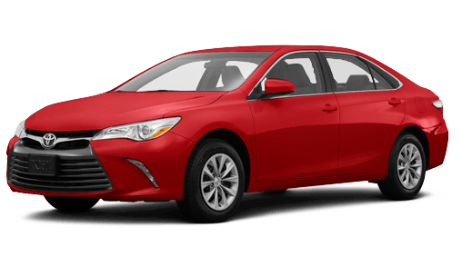 new red 2016 toyota camry with gray interior
