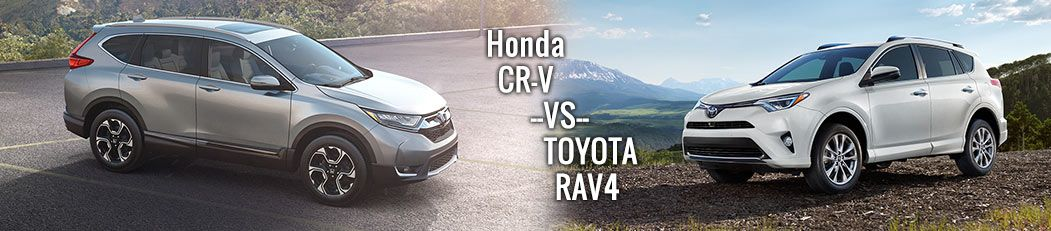 2017 Honda CR-V vs. Toyota RAV4