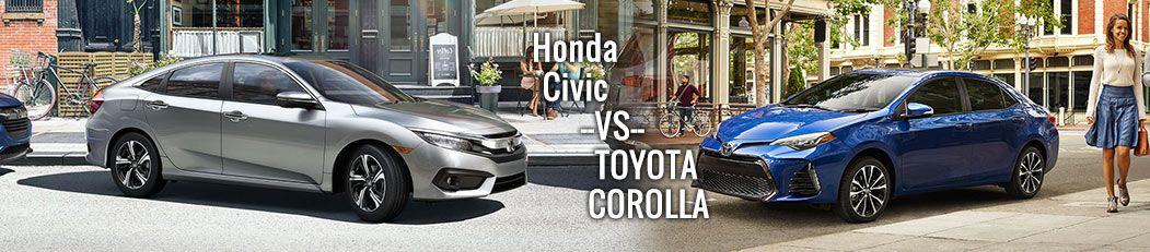 2017 Honda Civic vs. Toyota Corolla