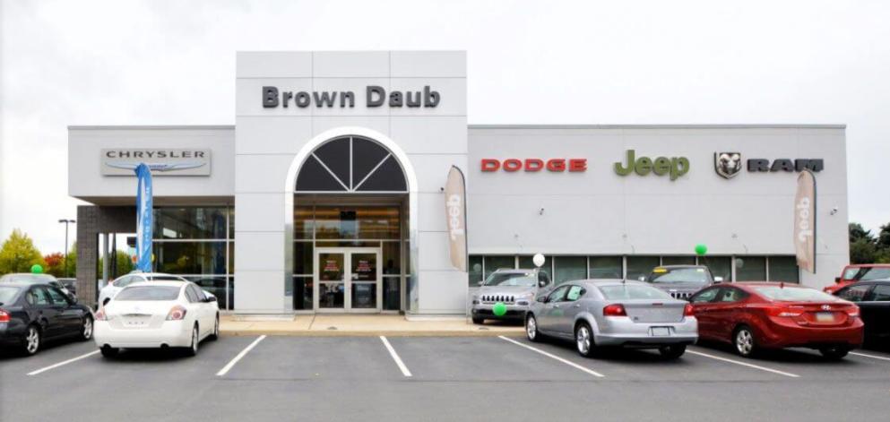 Chrysler dodge jeep ram dealership in bath pa brown for M l motors chrysler dodge jeep ram