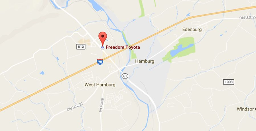 Welcome To Freedom Toyota In Hamburg, PA Serving Allentown And Reading