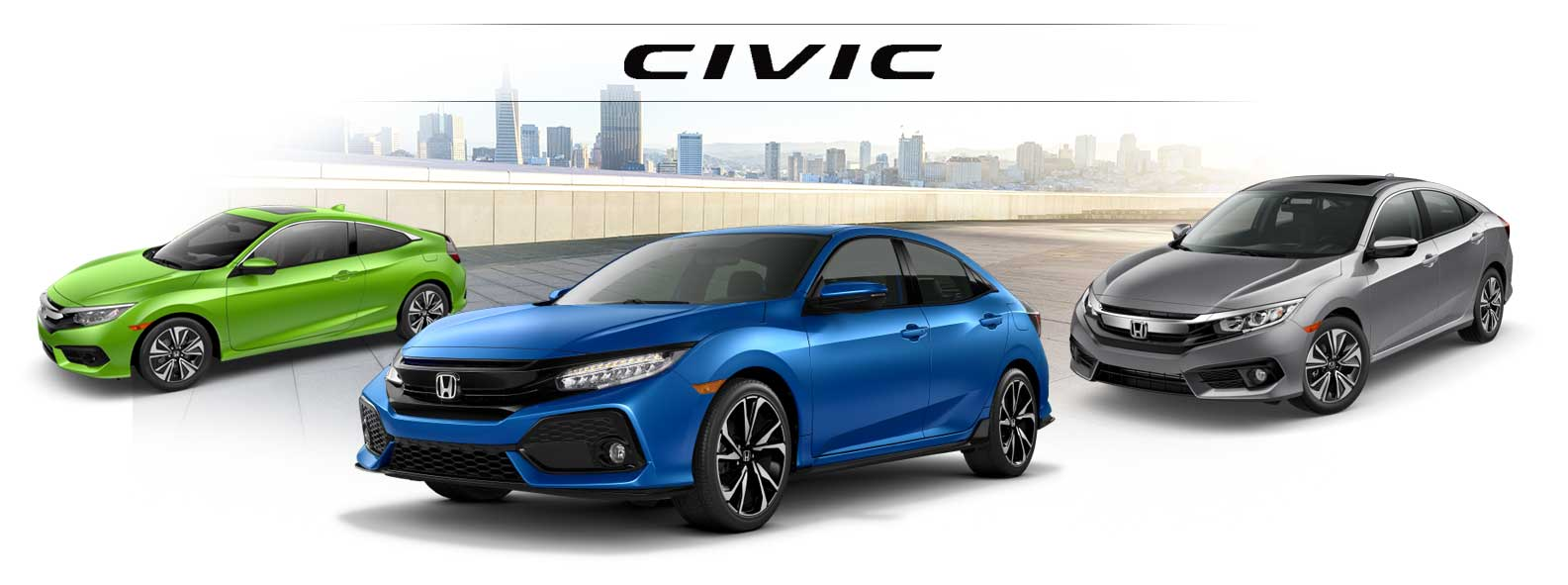 New Honda Civic Models