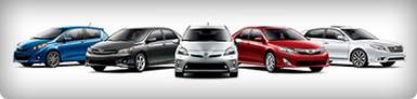 Used car models, 5 cars various colors