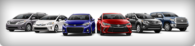 New car models, 6 cars various colors