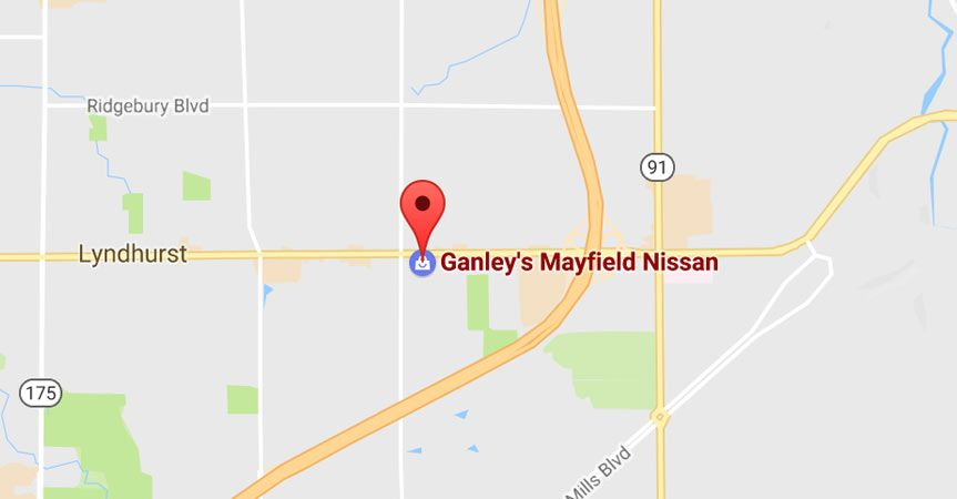directions-Ganleys Mayfield Nissan