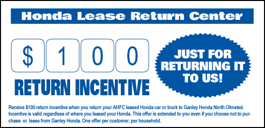 Lease Return Center In North Olmsted