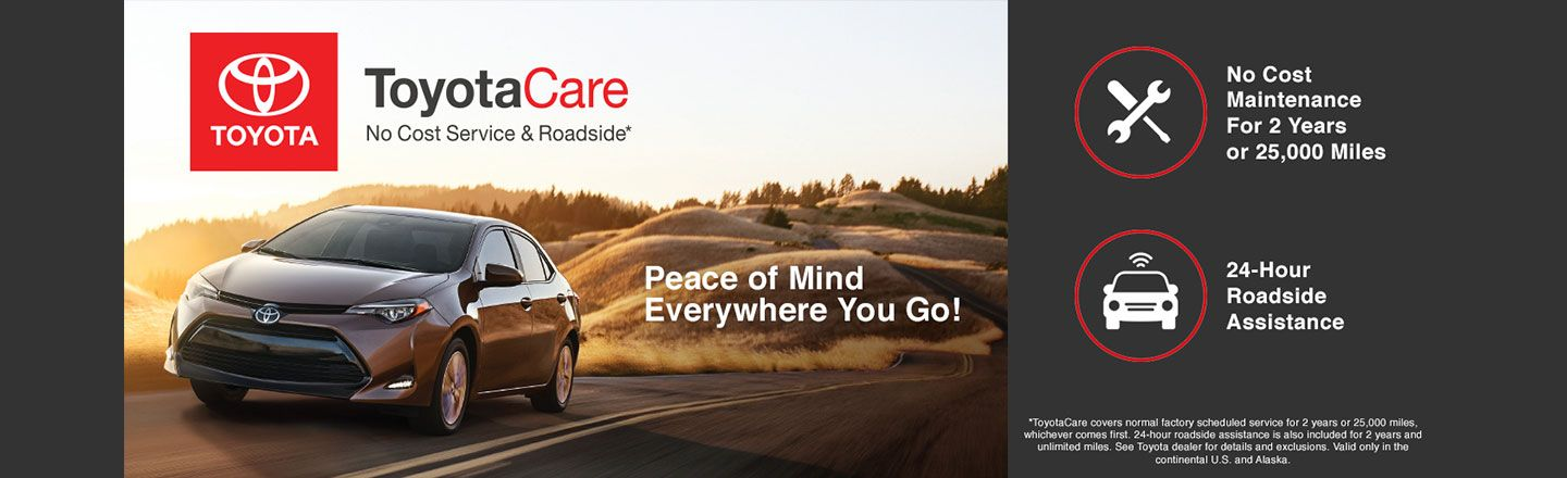 SET   REQUIRED   TOYOTACARE