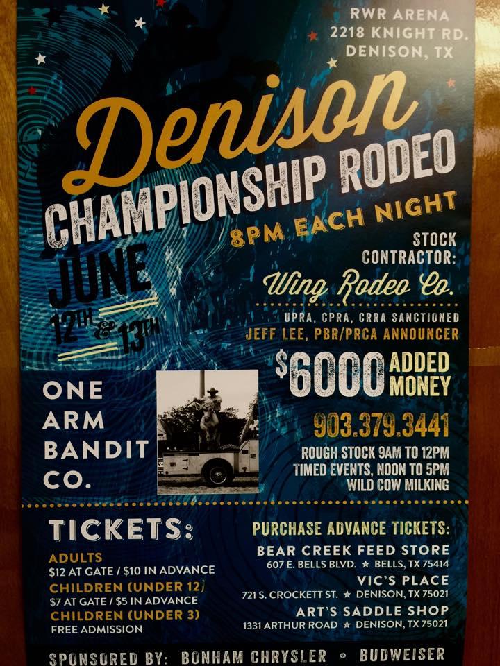 Denison Championship Rodeo