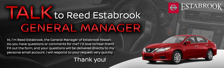 Estabrook Nissan Talk to the Dealer