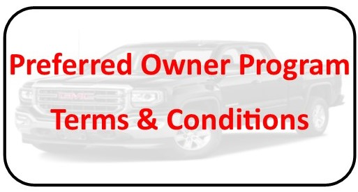 Preferred Owner Terms & Conditions