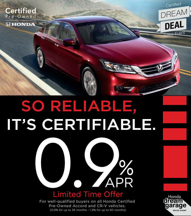 Honda certified pre owned vehicles for Pre certified honda