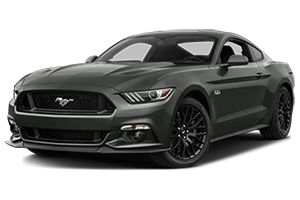 2016 ford mustang with gray interior