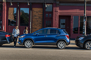 2017 Chevrolet Trax is compact