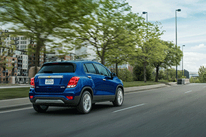 Test drive a 2017 Chevrolet Trax