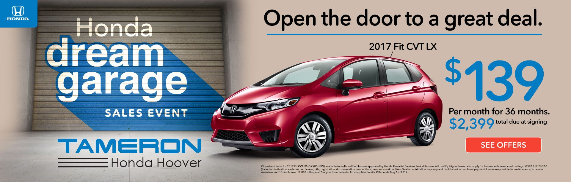 Honda Car Dealer in Birmingham | Jefferson County | Tameron Honda