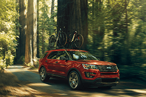 2016 Ford Explorer Road trip Travels