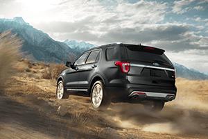 2016 Ford Explorer Black off road