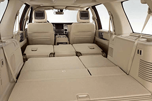 2017 Ford Expedition Tan Interior with Folded Seats