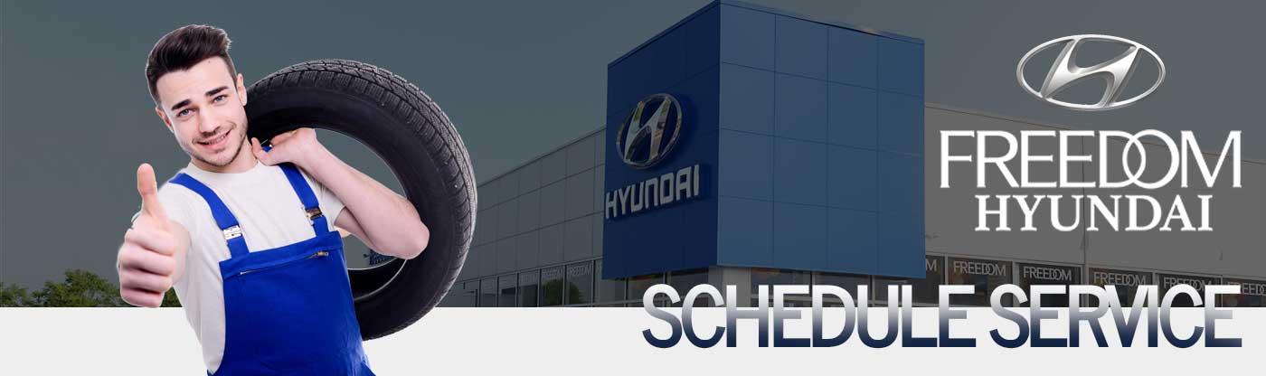 freedom hyundai schedule service
