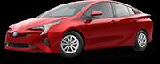 2017 Red Toyota Prius Exterior