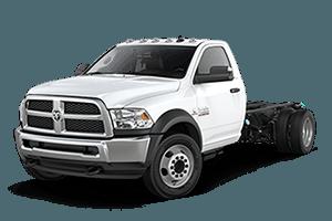 2017 RAM 4500 White Work Truck