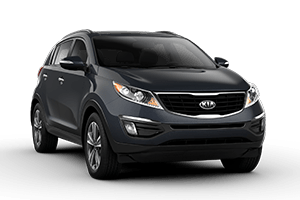 dark gray 2016 kia sportage
