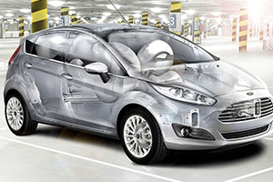 airbags safety features for 2016 ford fiesta