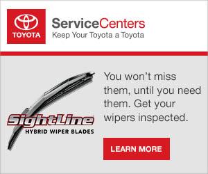 Toyota Sightline Windshield Wipers at Amigo Toyota