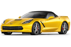 yellow 2016 chevy corvette