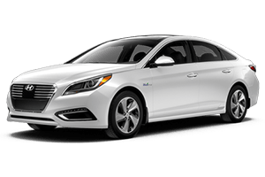 all white 2016 hyundai sonata hybrid