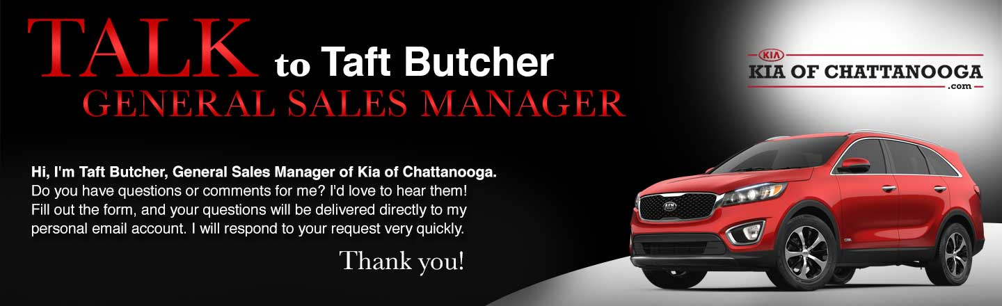 KIA of Chattanooga talk to the dealer