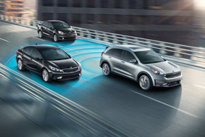 2017 Kia Niro Safety Features lane departure